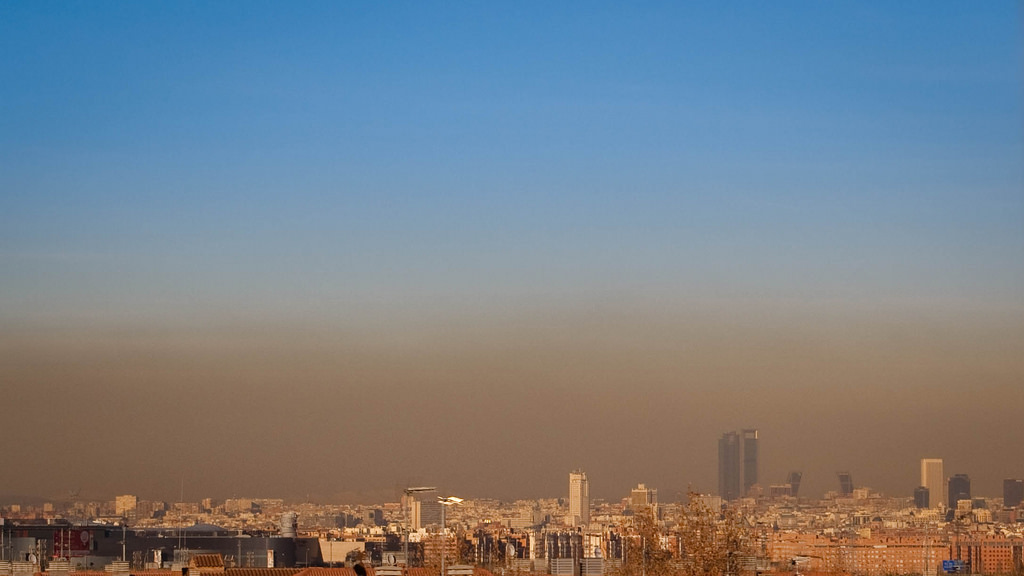 contaminación_Madrid